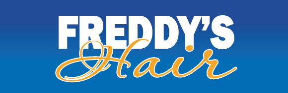 Freddy's Hair logo.