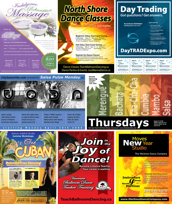 Flyer Design and Poster Design Samples